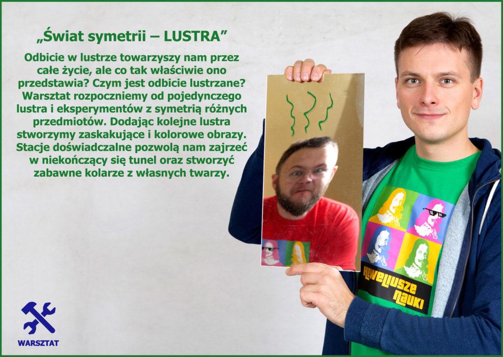 Świat symetrii - LUSTRA